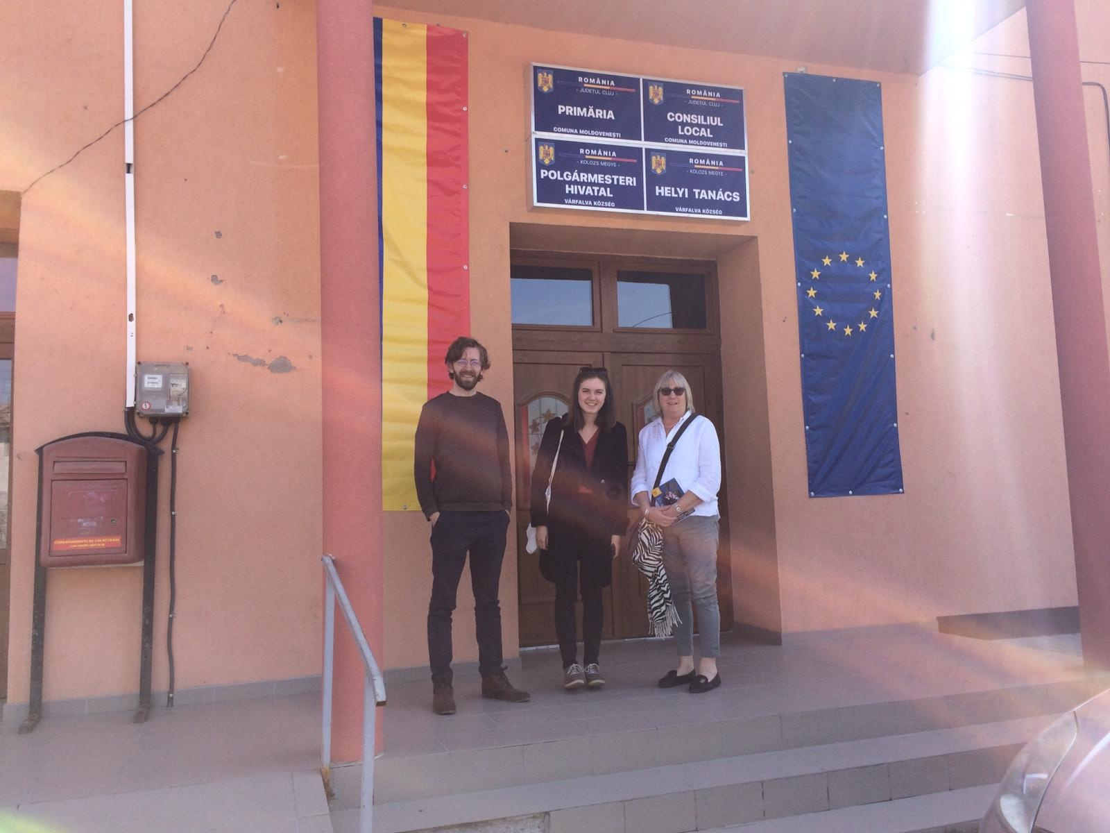 <b></b> <br/> Take Art staff visited the Italian and Romanian partners while Carn to Cove staff visited the Lithuanian and Estonian partners.