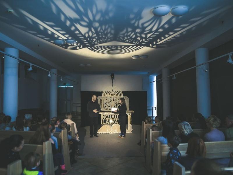 <b>LITHUANIA Clowns theatre studio Dulidu performance Noah's Ark. 2019.11.17. PhDonatas Bielkauskas