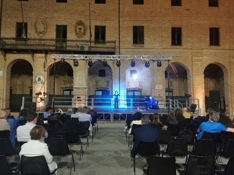 <b>TALY Isabella Carloni performance Circe in Caldarola  2021.07.10