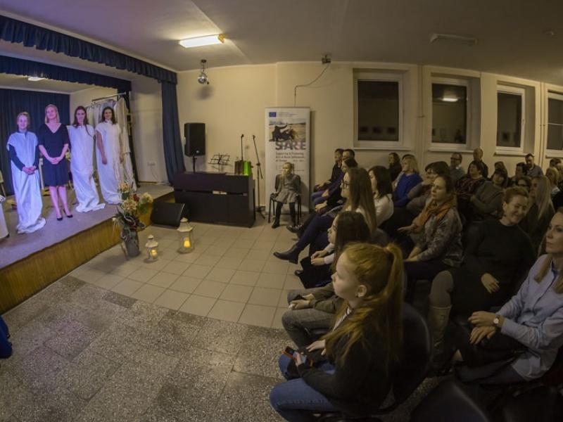 <b>LITHUANIA Taskas theater performance Dressing Room 2019.11.23. ph Donatas Bielkauskas