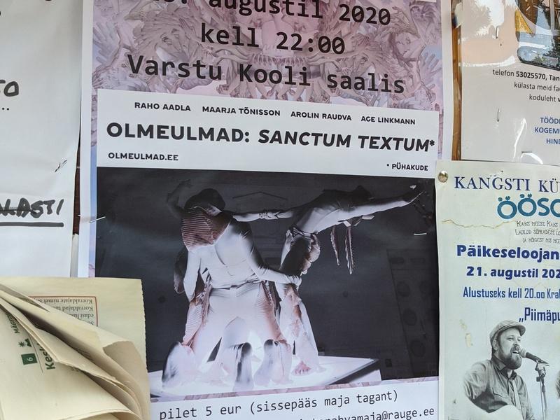 <b>ESTONIA Olmeulmad in Varstu Kool 16.08.2020