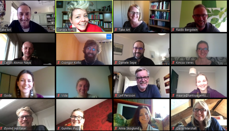 DISTANT BUT CLOSE: ONLINE PARTNER MEETING ON APRIL 2020 Image 1